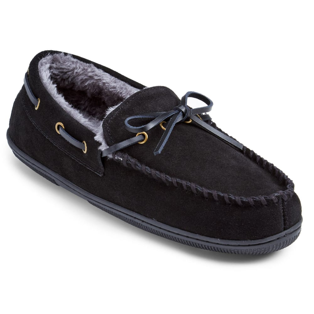 EDDIE BAUER Men's Edison Slippers - BLACK