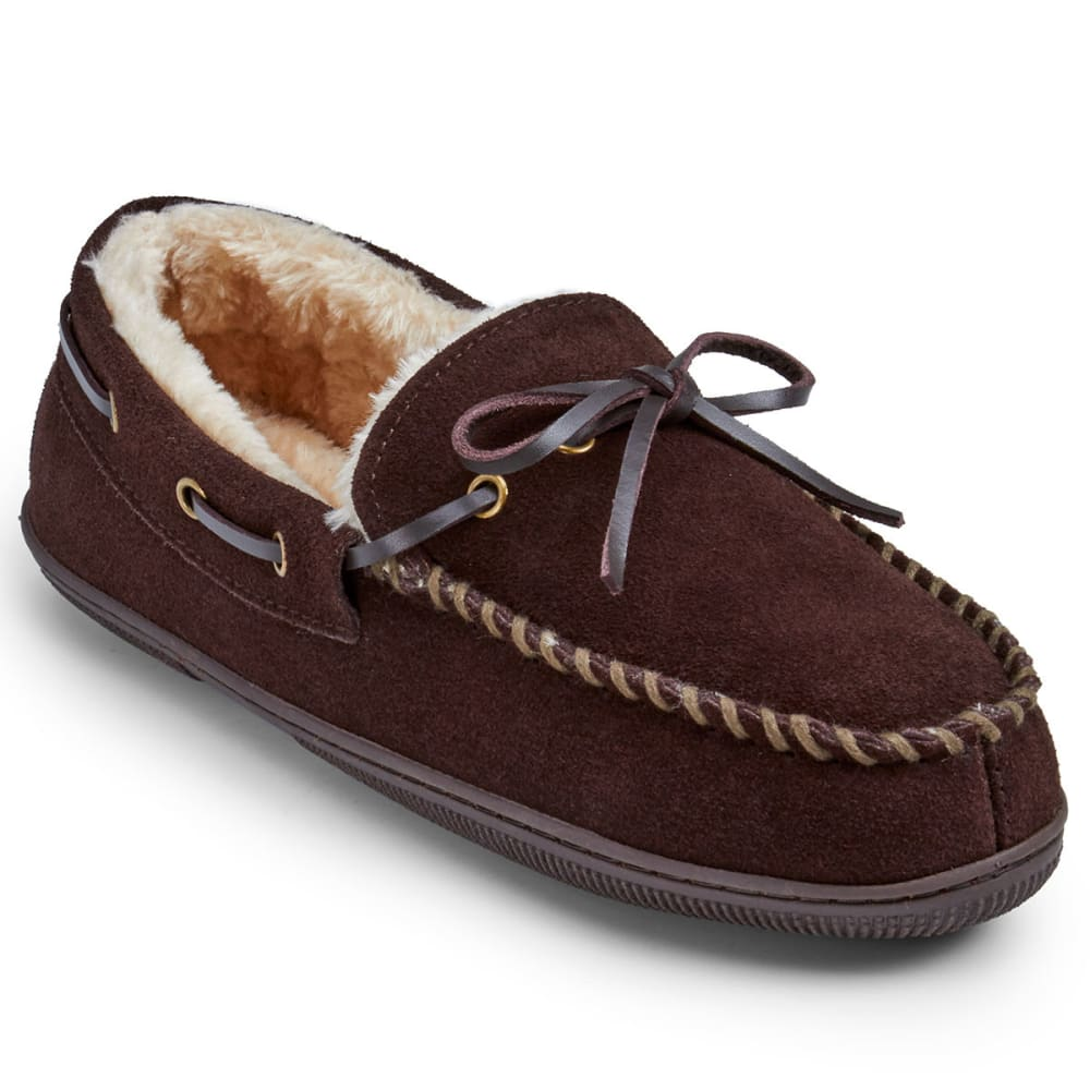 EDDIE BAUER Men's Edison Slippers - DARK BROWN