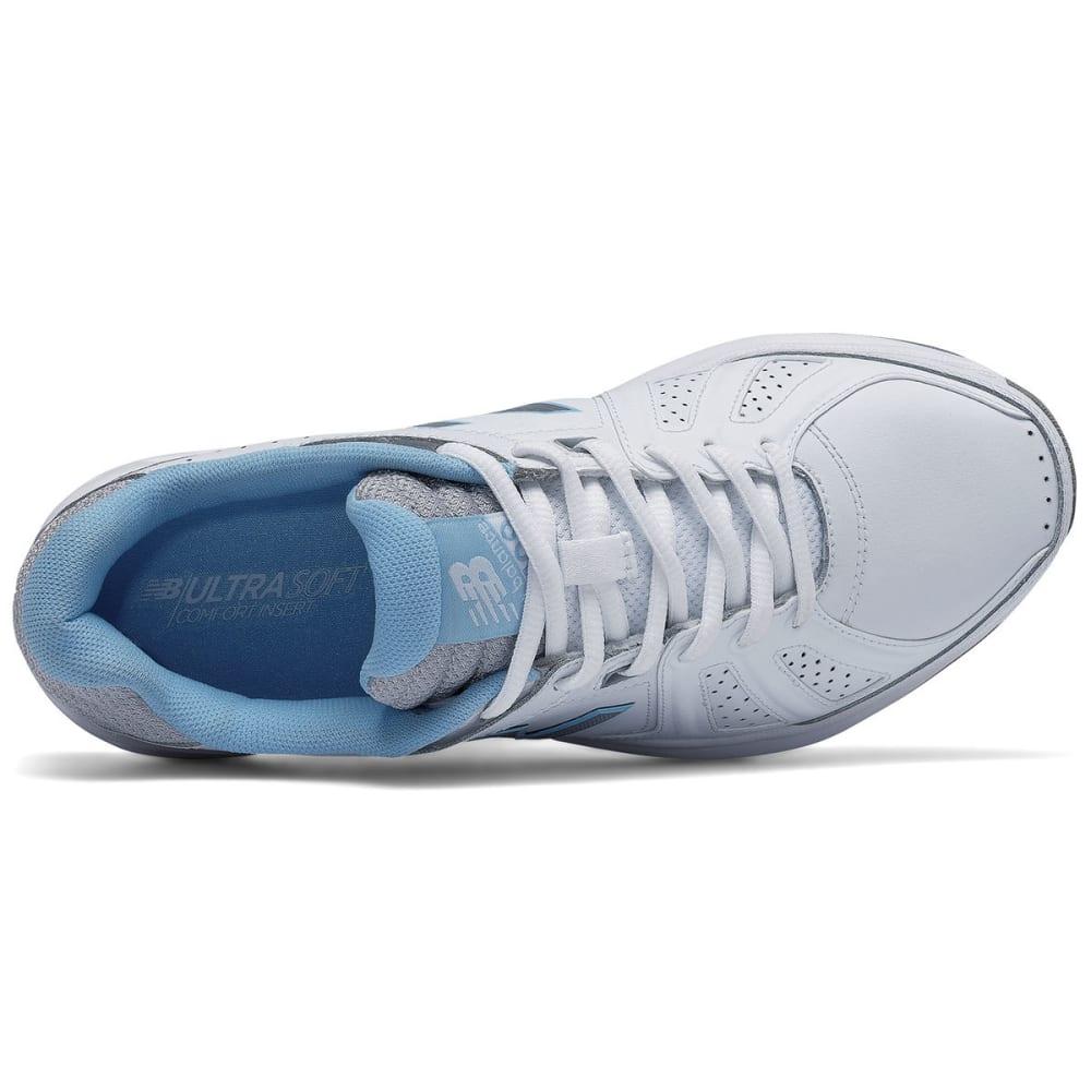 NEW BALANCE Women's 409V3 Training Shoes - WHITE/BLUE