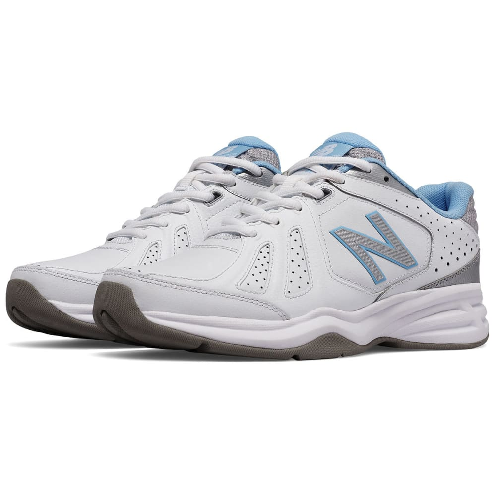 NEW BALANCE Women's 409 Training Shoes - WHITE/BLUE