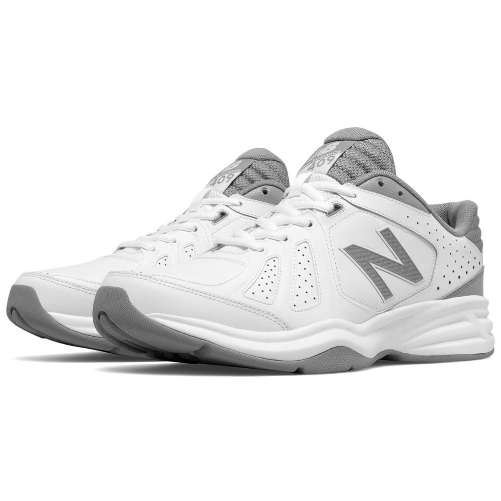 NEW BALANCE Men's MX409V3 Cross Training Shoes, Wide - WHITE