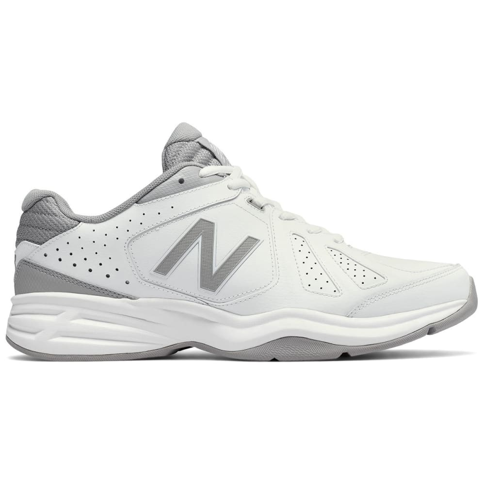 New Balance Men's Mx409Wg3 Cross Training Shoes, Wide - White, 7.5