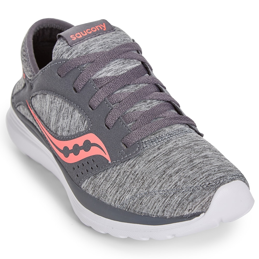 SAUCONY Women's Kineta Relay Sneakers - HEATHER/CORAL