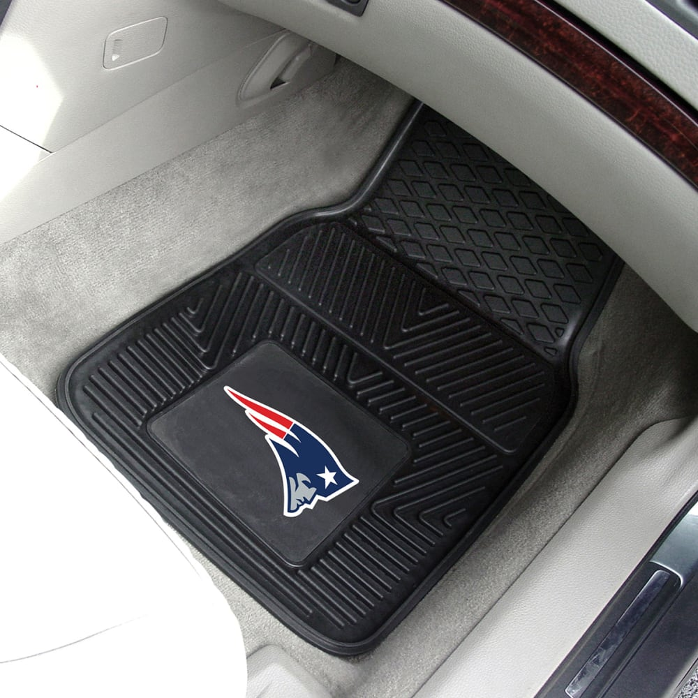 NEW ENGLAND PATRIOTS Vinyl Car Mats, 2 Pack - ASSORTED