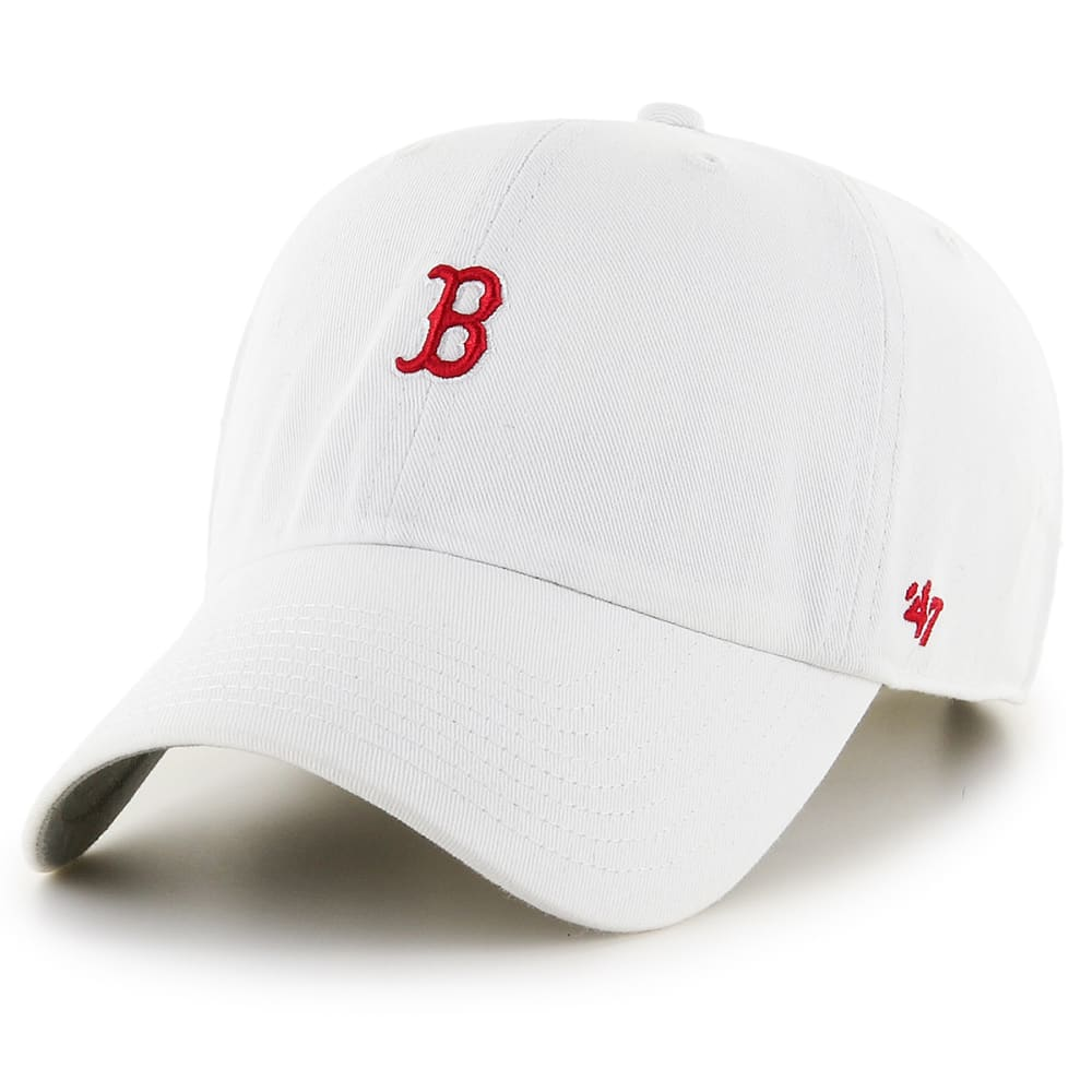 BOSTON RED SOX Abate Adjustable Baseball Cap - WHITE
