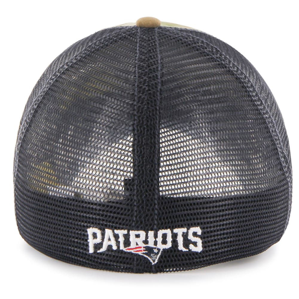 NEW ENGLAND PATRIOTS Men's Compass Camo Mesh Flexfit Cap - ASSORTED