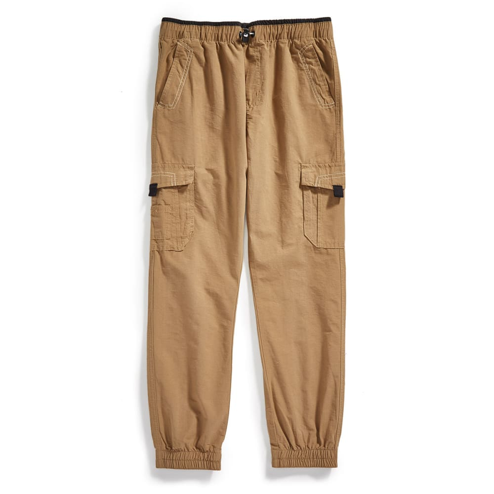 OCEAN CURRENT Boys' Climb Jogger Cargo Pants - DULL GOLD