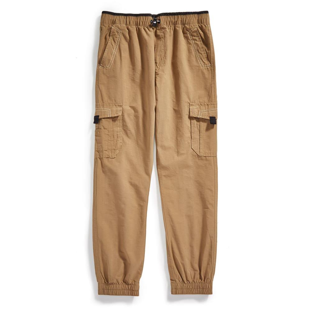 OCEAN CURRENT Boys' Climb Jogger Cargo Pants - DULL GOLD