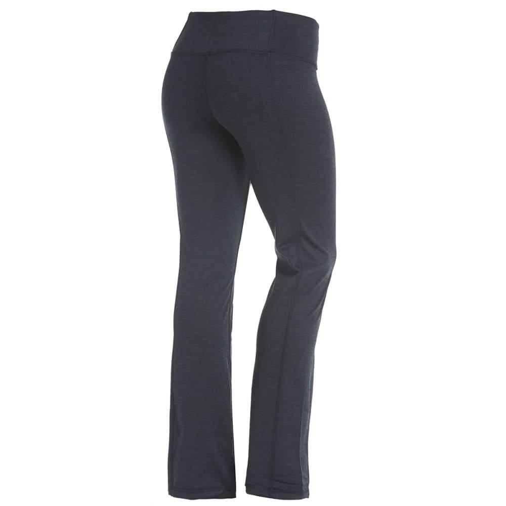RBX Women's Brushed-Back Open Hem Pants - BLACK-A