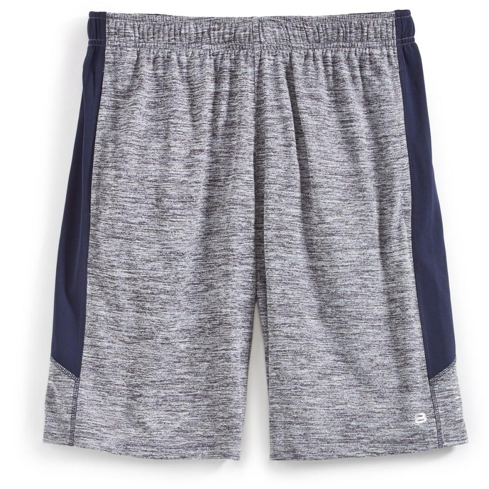 LAYER 8 Men's Heather Training Shorts - GRYSTN CROSS DYE-BH4