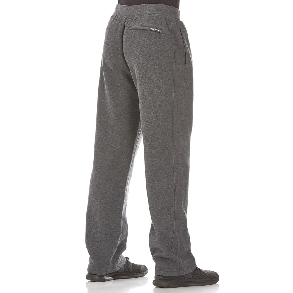 LAYER 8 Men's CVC Fleece Pants - CHAR GRY HTHR-CGH