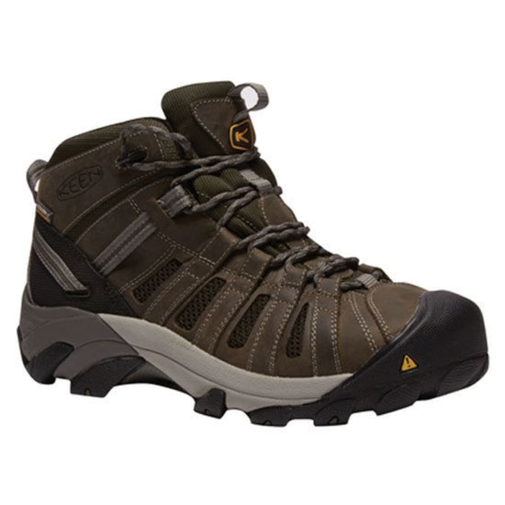 KEEN Men's Cody Steel Toe Hiker Work Boots - GARGOYLE/FOREST