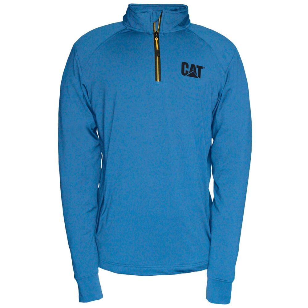 CATERPILLAR Men's Contour ¼-Zip Sweatshirt - 01CS SAPPHIRE BLUE