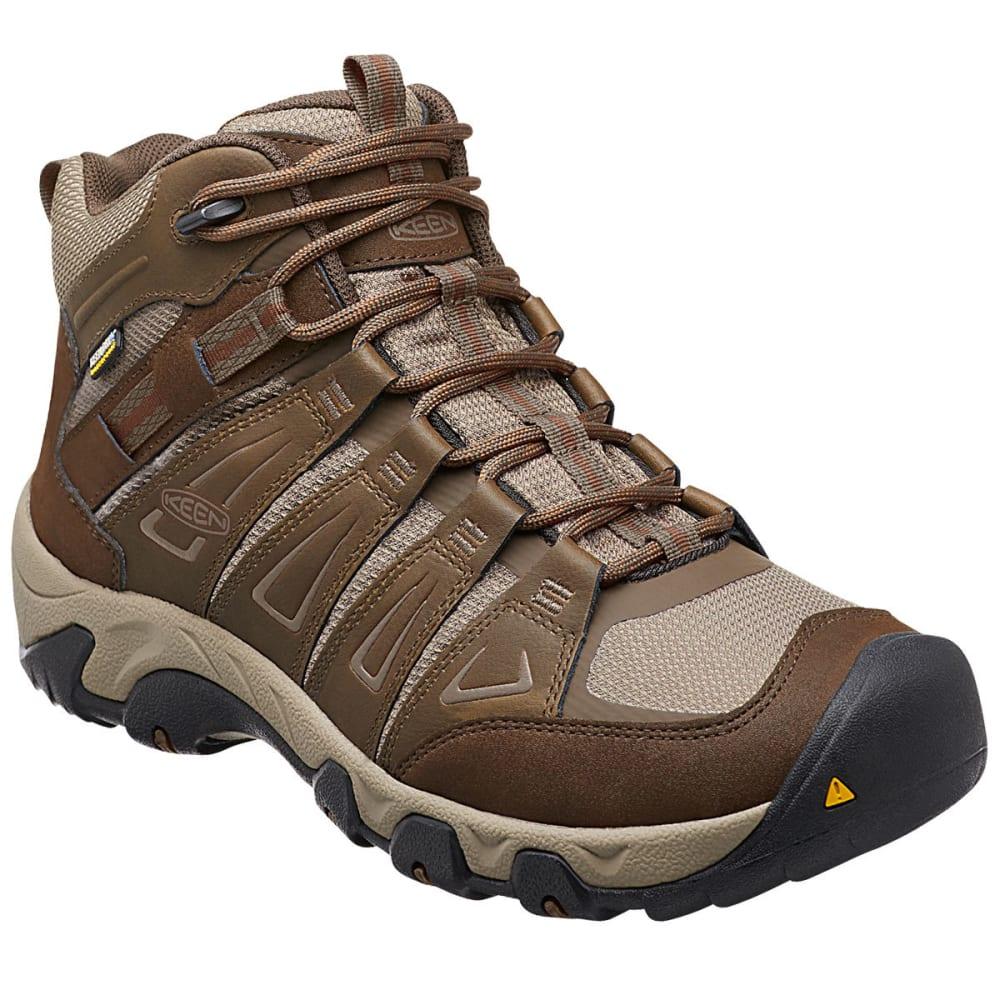 KEEN Men's Oakridge Mid Waterproof Boots 8