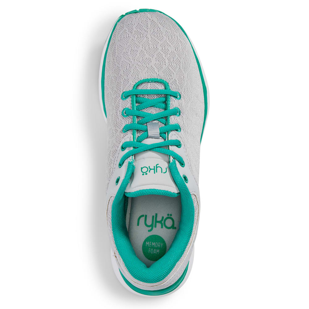 RYKA Women's Cygnus Training Sneakers - GREY/TEAL