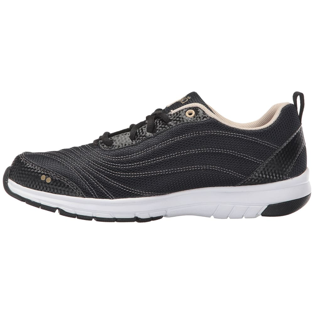 RYKA Women's Continuum Walking Shoes - BLACK