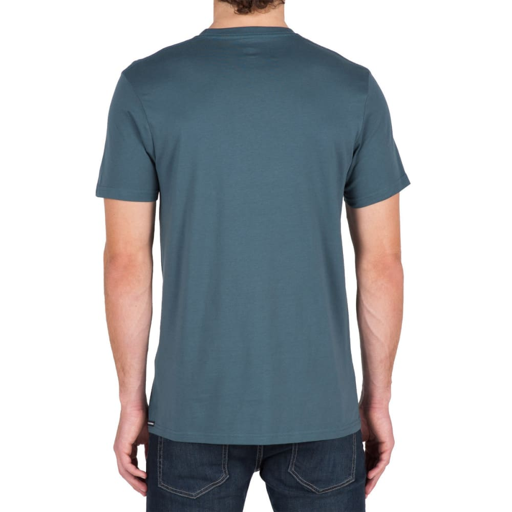VOLCOM Guys' Simple Short-Sleeve Tee - AIR FORCE BLUE- AFB