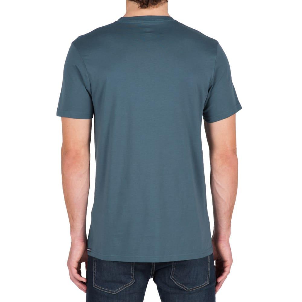 VOLCOM Guys' Simple Short-Sleeve Tee - AIR FORCE BLUE- AFB