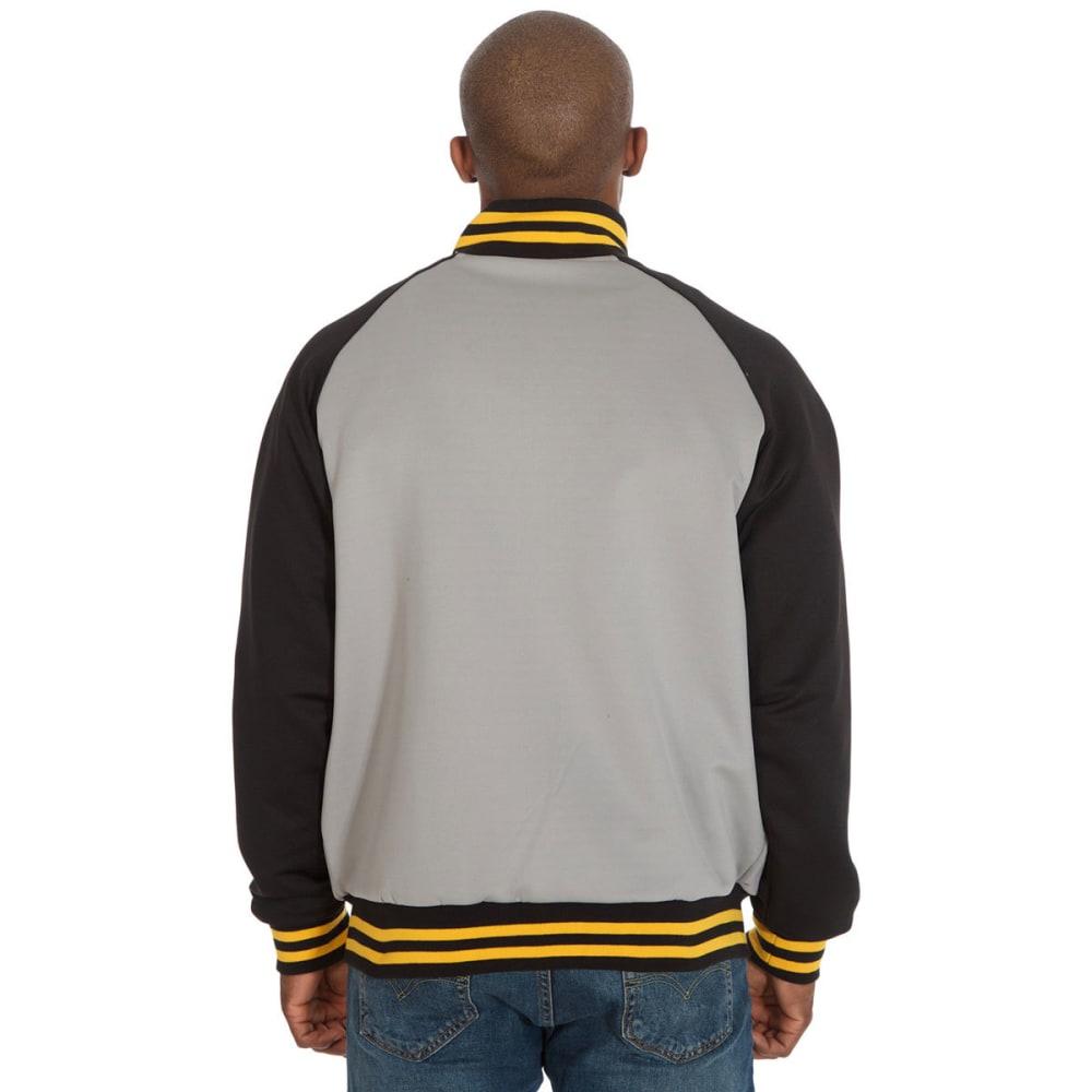 BOSTON BRUINS Men's Reversible Track Jacket - GREY