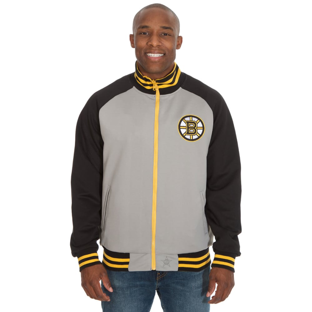 BOSTON BRUINS Men's Reversible Track Jacket M
