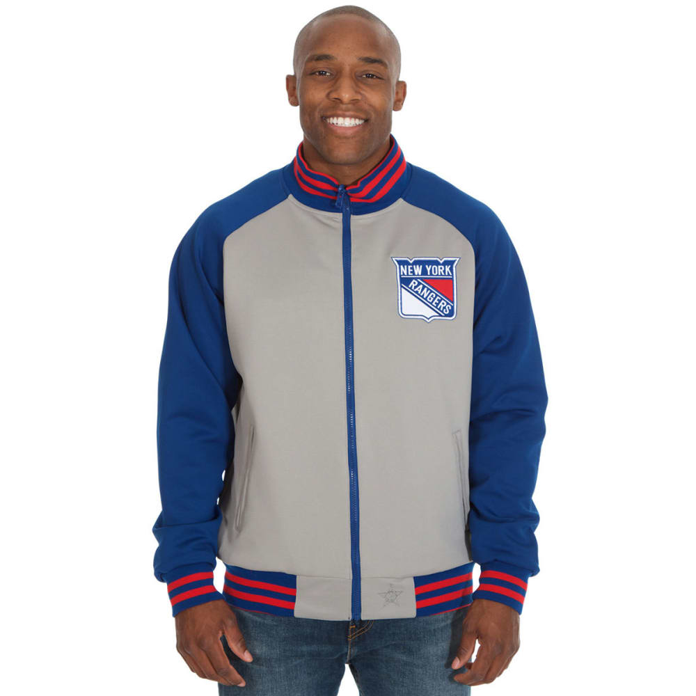 NEW YORK RANGERS Men's Reversible Track Jacket M