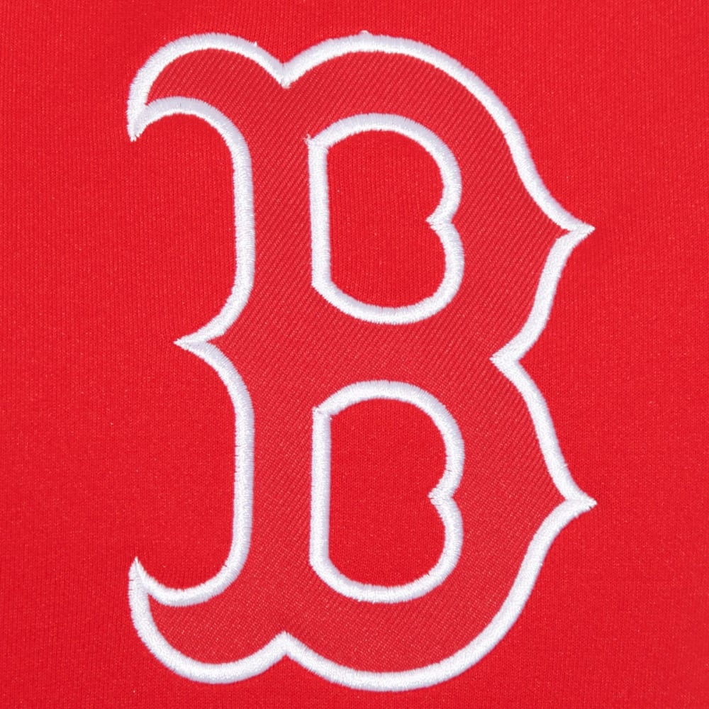 BOSTON RED SOX Men's Reversible Track Jacket - RED