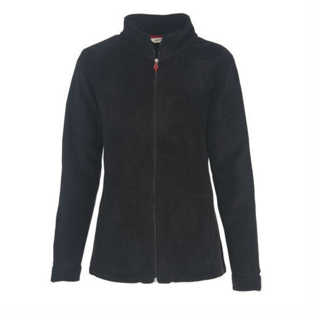 WOOLRICH Women's Andes Fleece Jacket - BLACK