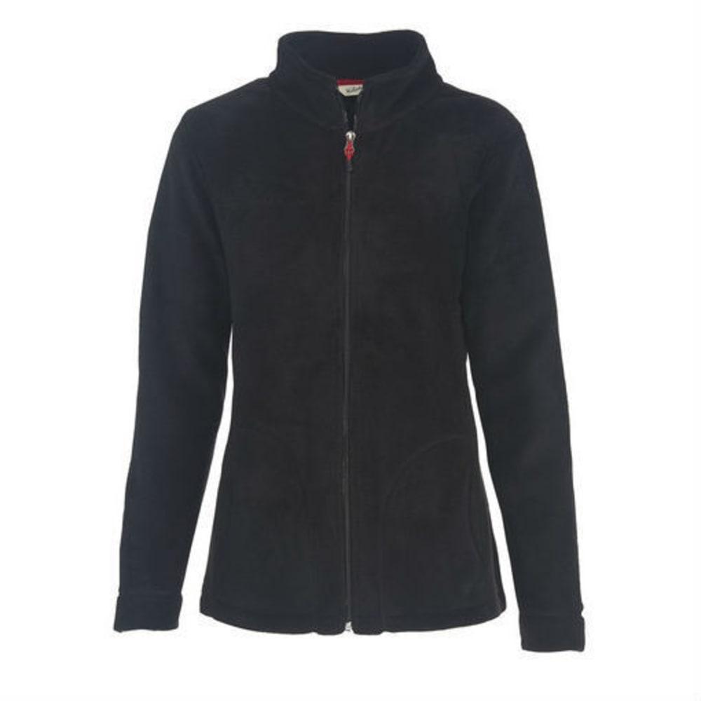 WOOLRICH Women's Andes Fleece Jacket - BLACK