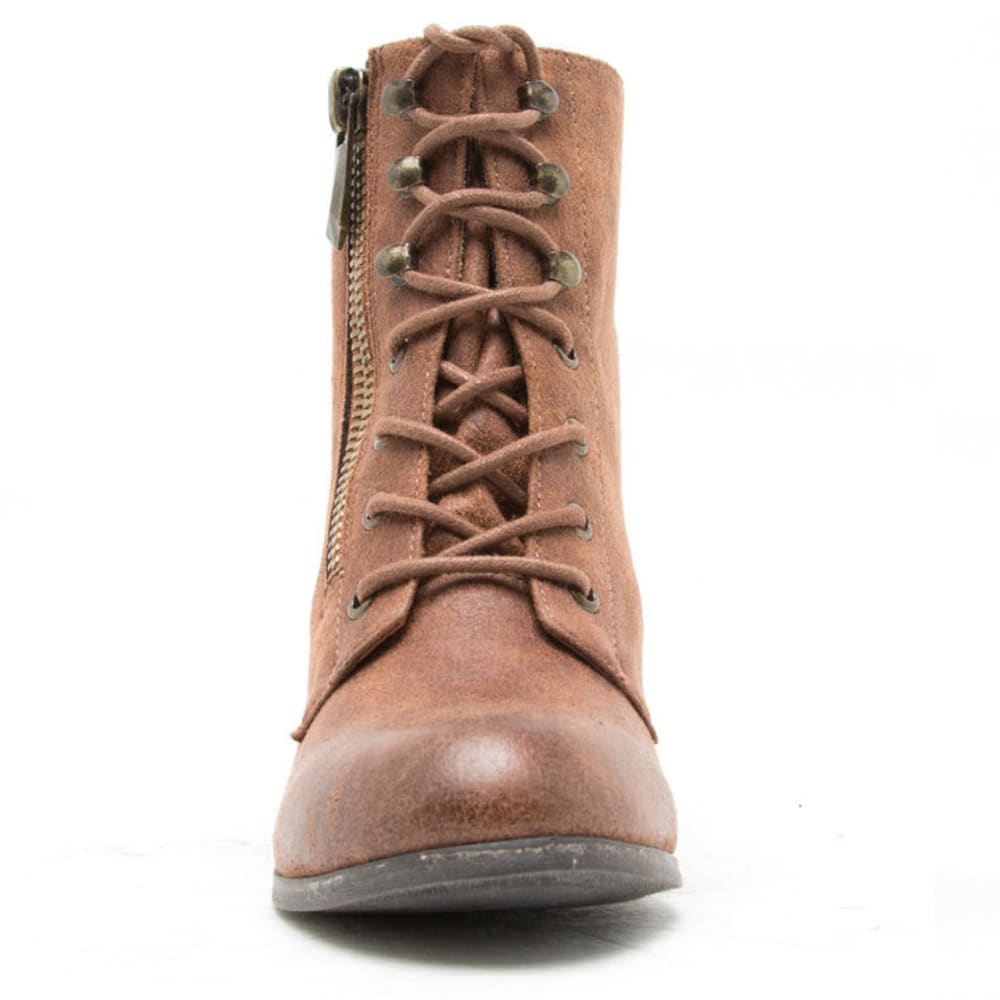 QUPID Women's Maze-65 Boots - COGNAC