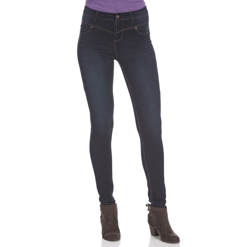 VANILLA STAR Juniors' Super Soft V-Yoke High-Waist Skinny Jeans - -2 MAURY