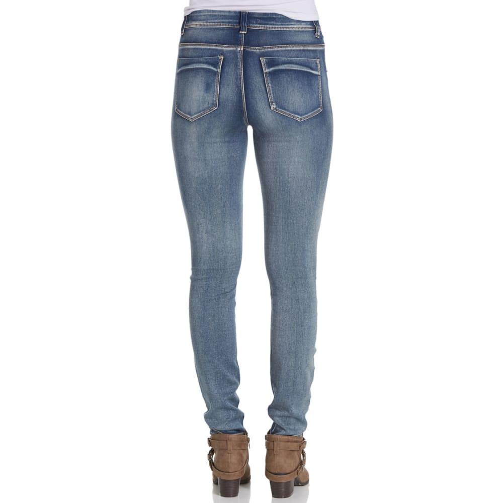 VANILLA STAR Juniors' Super Soft V-Yoke High-Waist Skinny Jeans - -5 LUKE