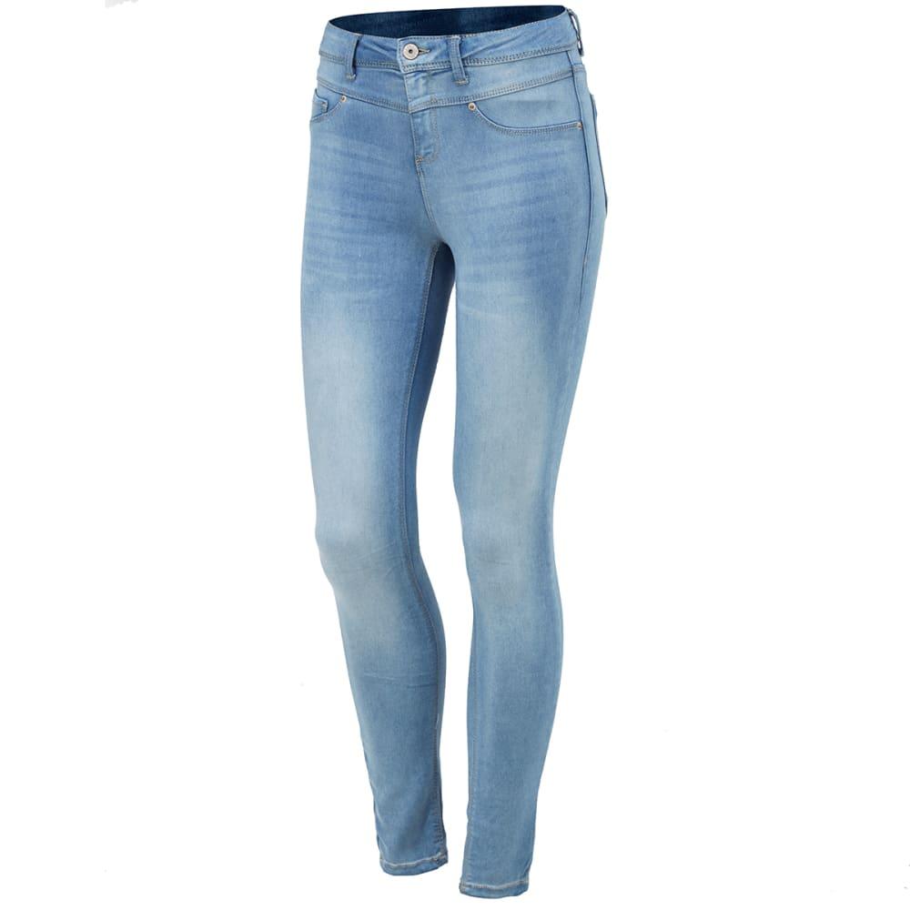 VANILLA STAR Juniors' Super Soft V-Yoke High-Waist Jeans - -1 MILO