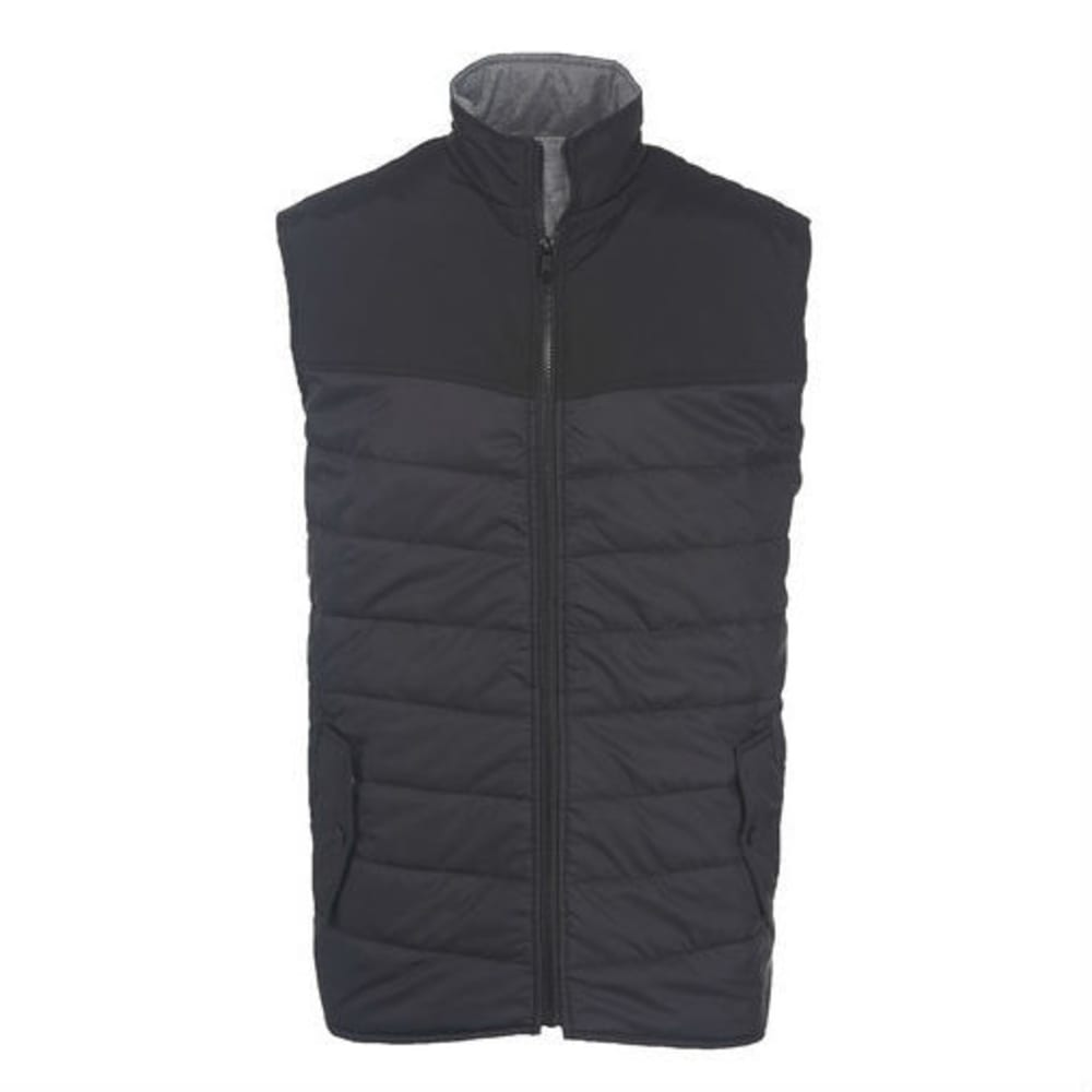 WOOLRICH Men's Wool Loft Insulated Vest - BLACK