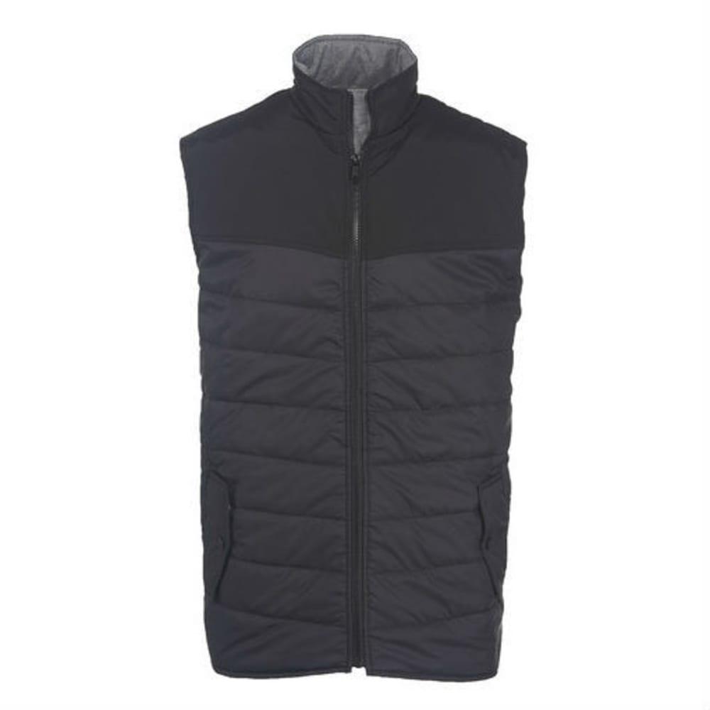 WOOLRICH Men's Wool Loft Insulated Vest - BLACK