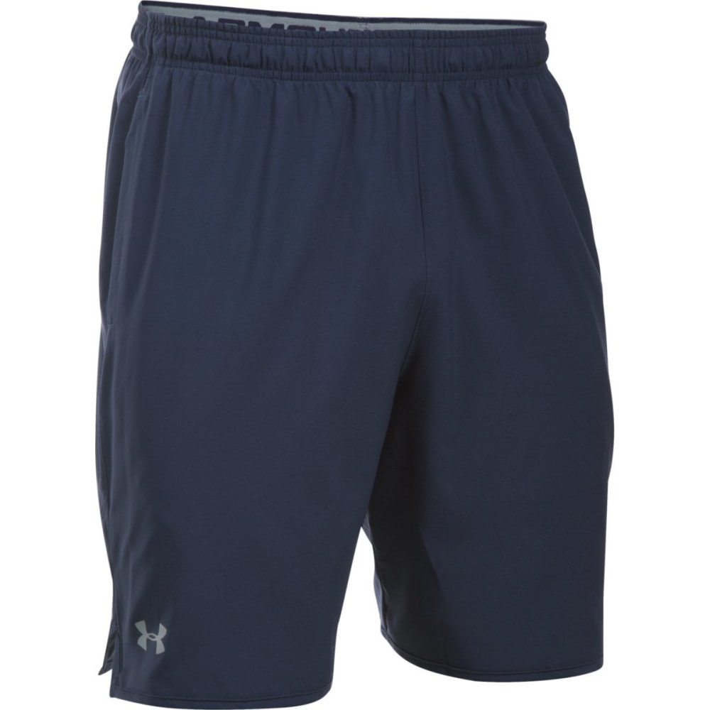UNDER ARMOUR Men's 9 in. Qualifier Woven Shorts S