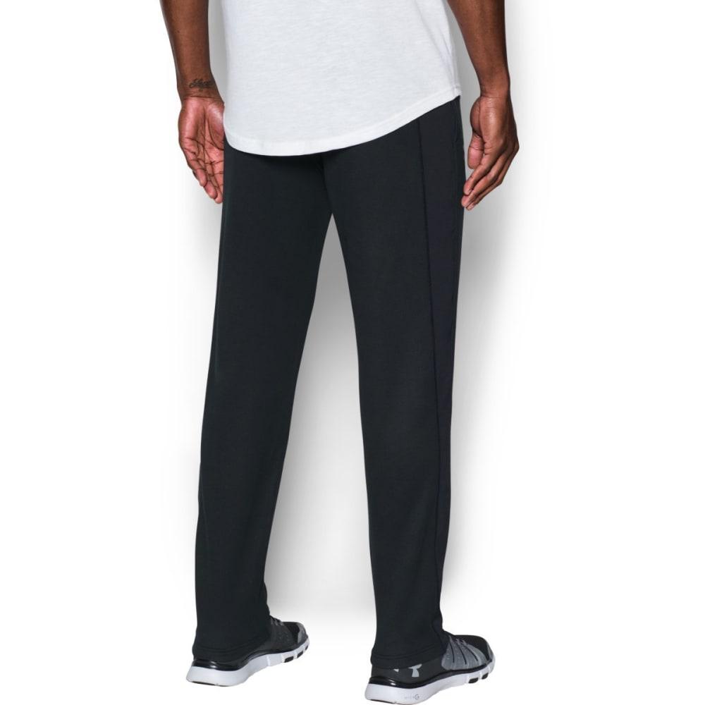 UNDER ARMOUR Men's ColdGear Tech Terry Pants - BLACK/SILVER-001