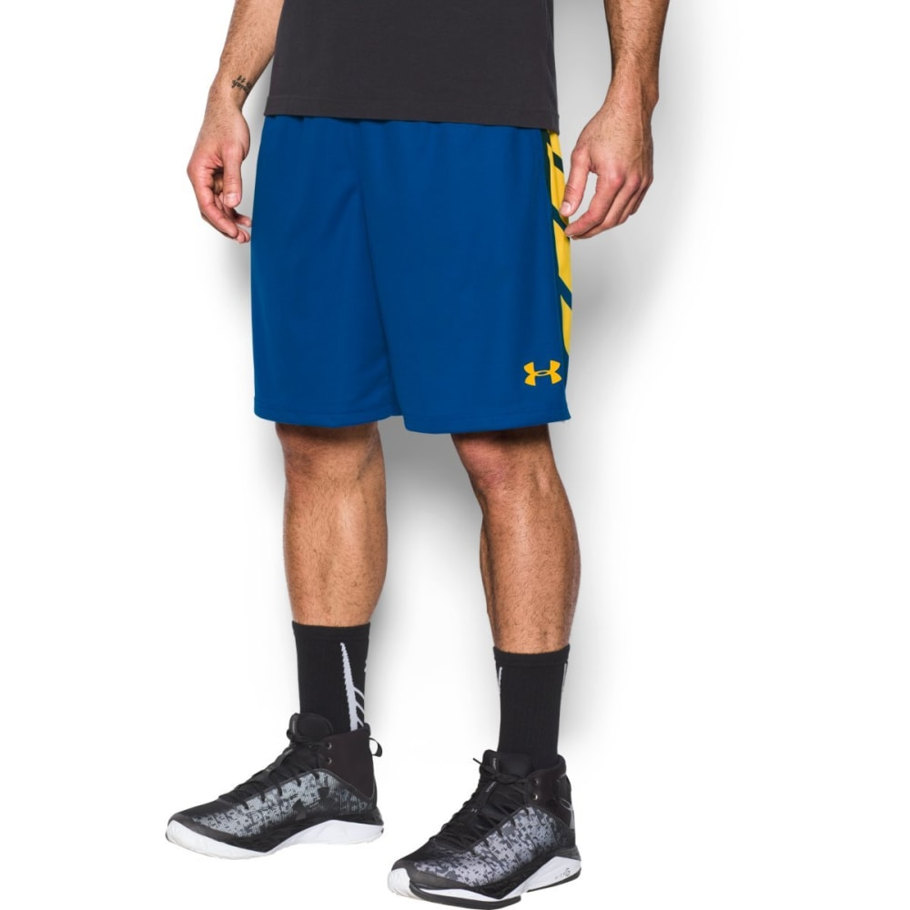 UNDER ARMOUR Men's 9 in. Select Basketball Shorts - ROYAL/WHITE-400