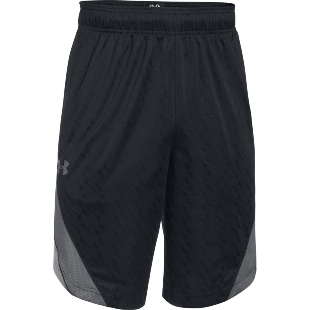 UNDER ARMOUR Men's SC30 Longshot 11 IN. Shorts - BLACK/GRAPHITE-001