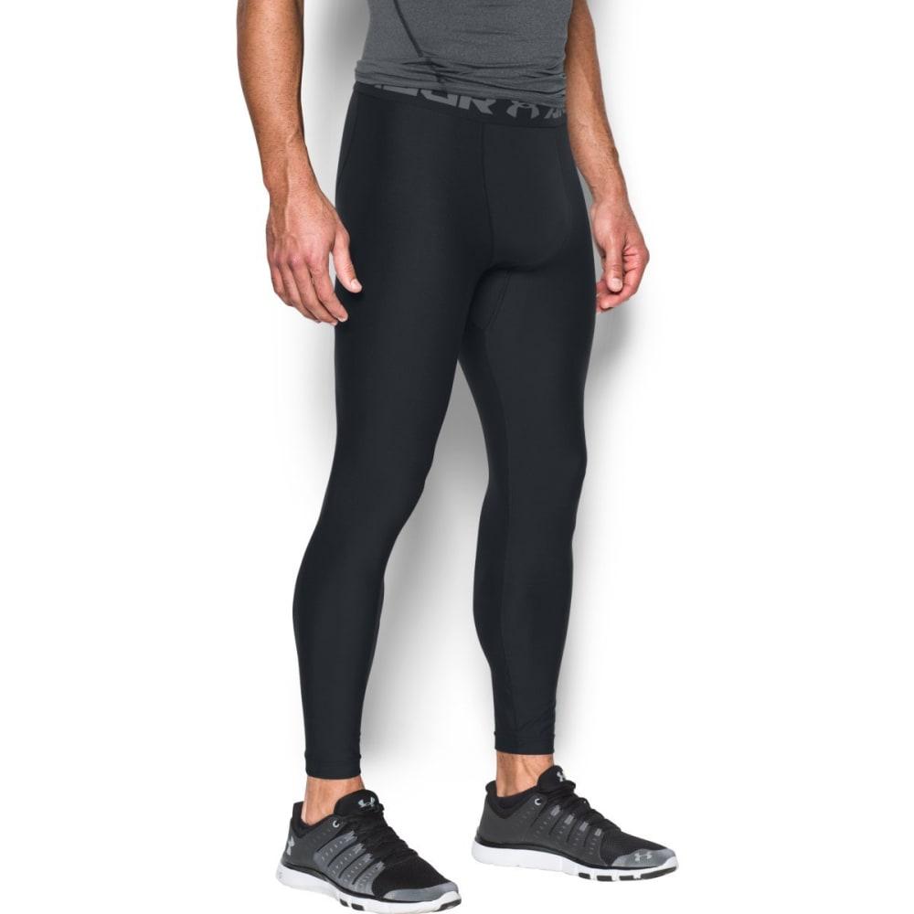 UNDER ARMOUR Men's Heat Gear Armour 2.0 Leggings - BLACK-001