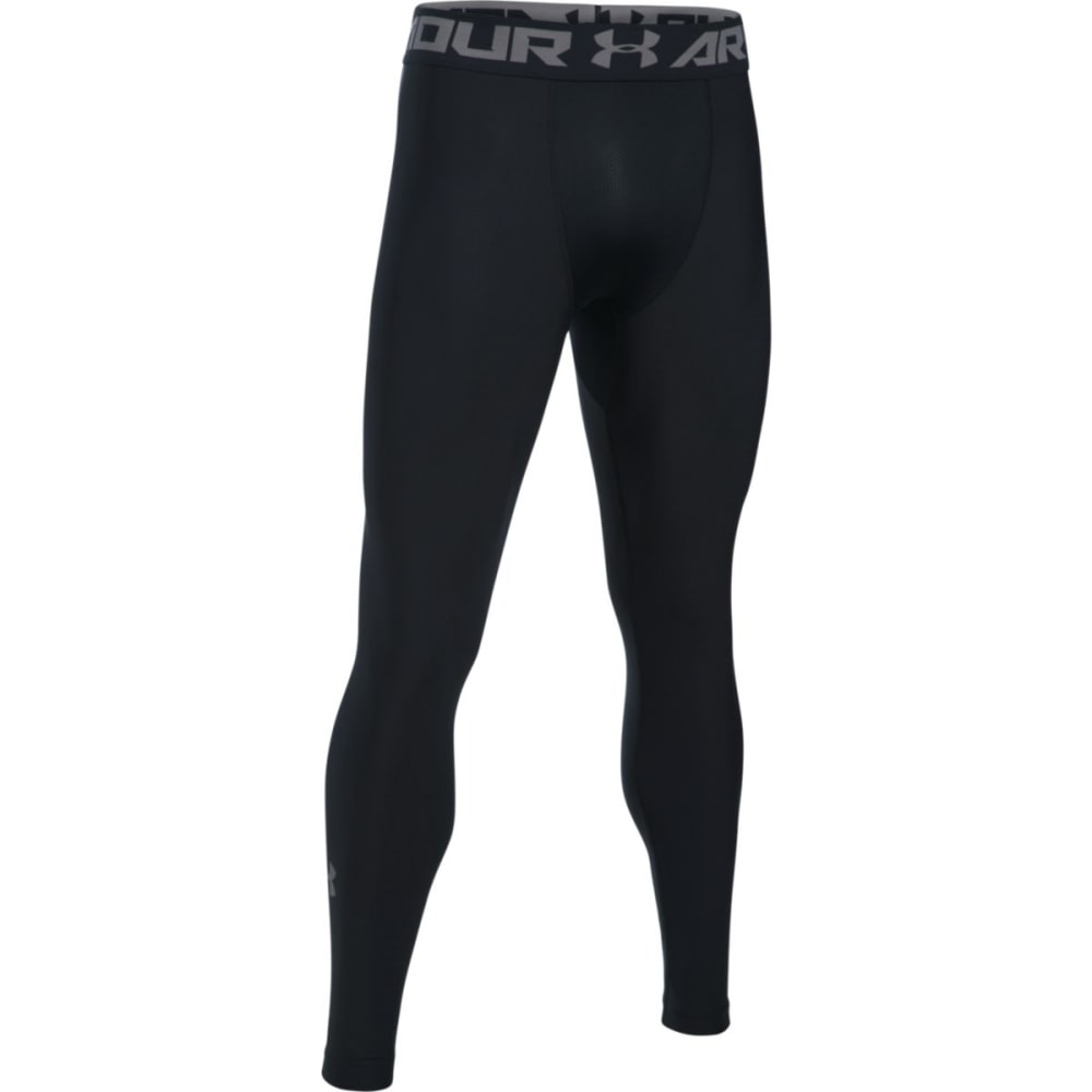UNDER ARMOUR Men's Heat Gear Armour 2.0 Leggings - BLACK-001