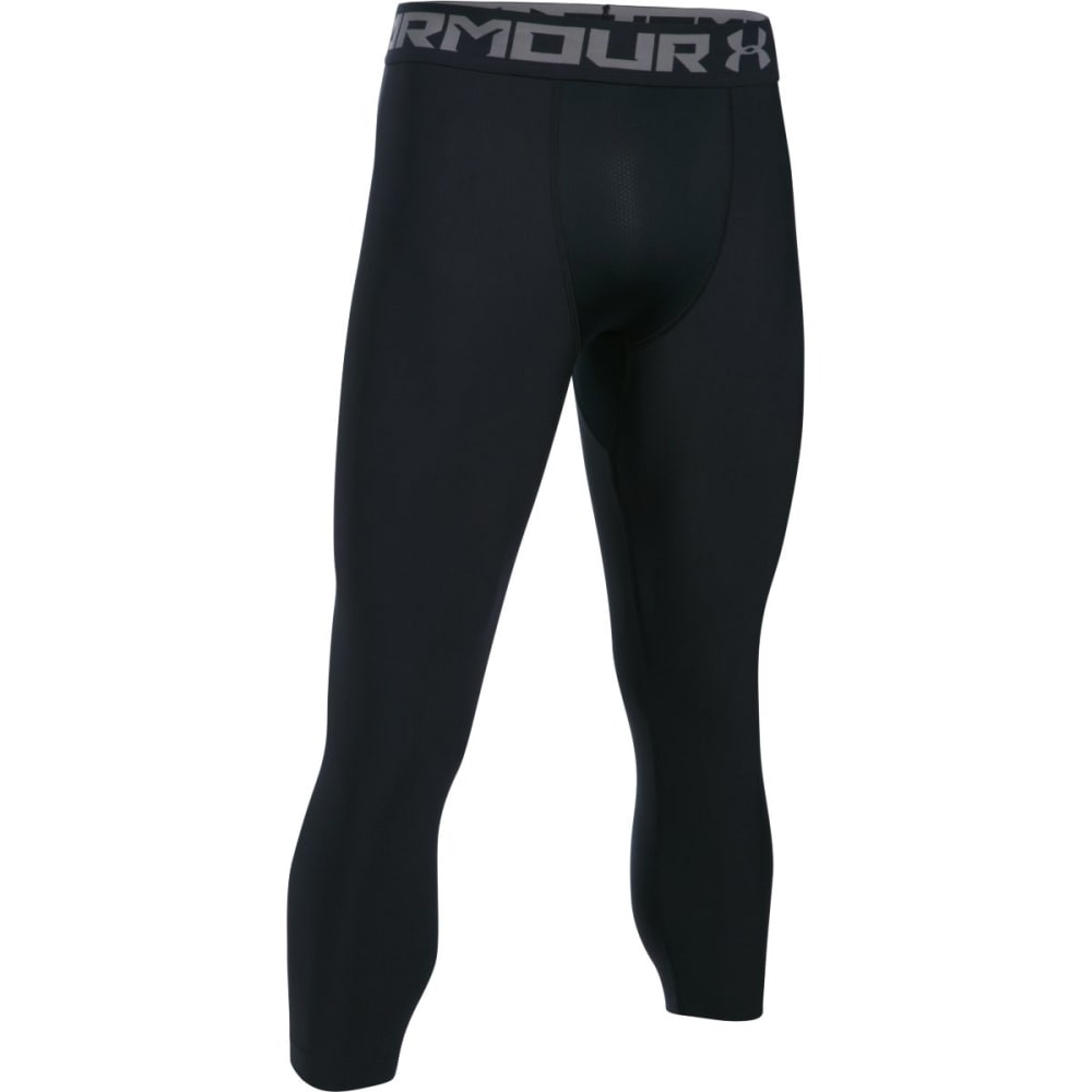 UNDER ARMOUR Men's HeatGear® Armour ¾ Leggings - BLACK-001