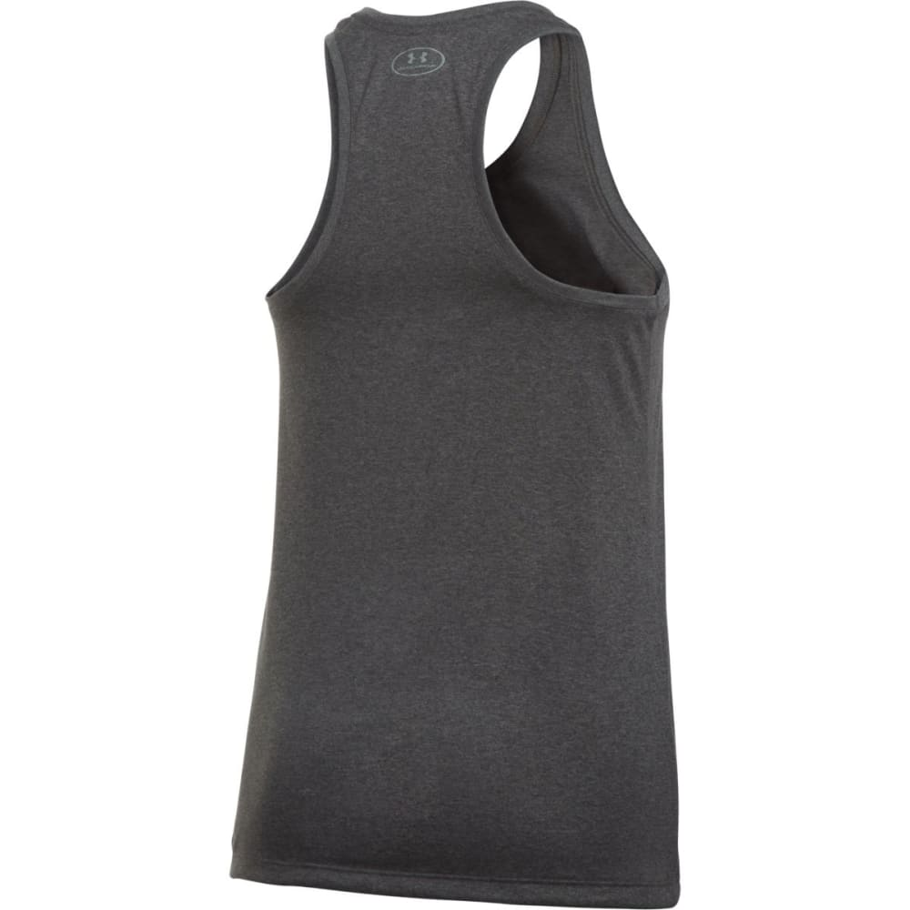 UNDER ARMOUR Women's Solid Tech Tank - CARBON-090