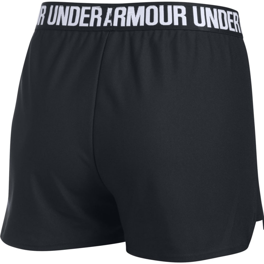 UNDER ARMOUR Women's Play Up Shorts - BLACK-002