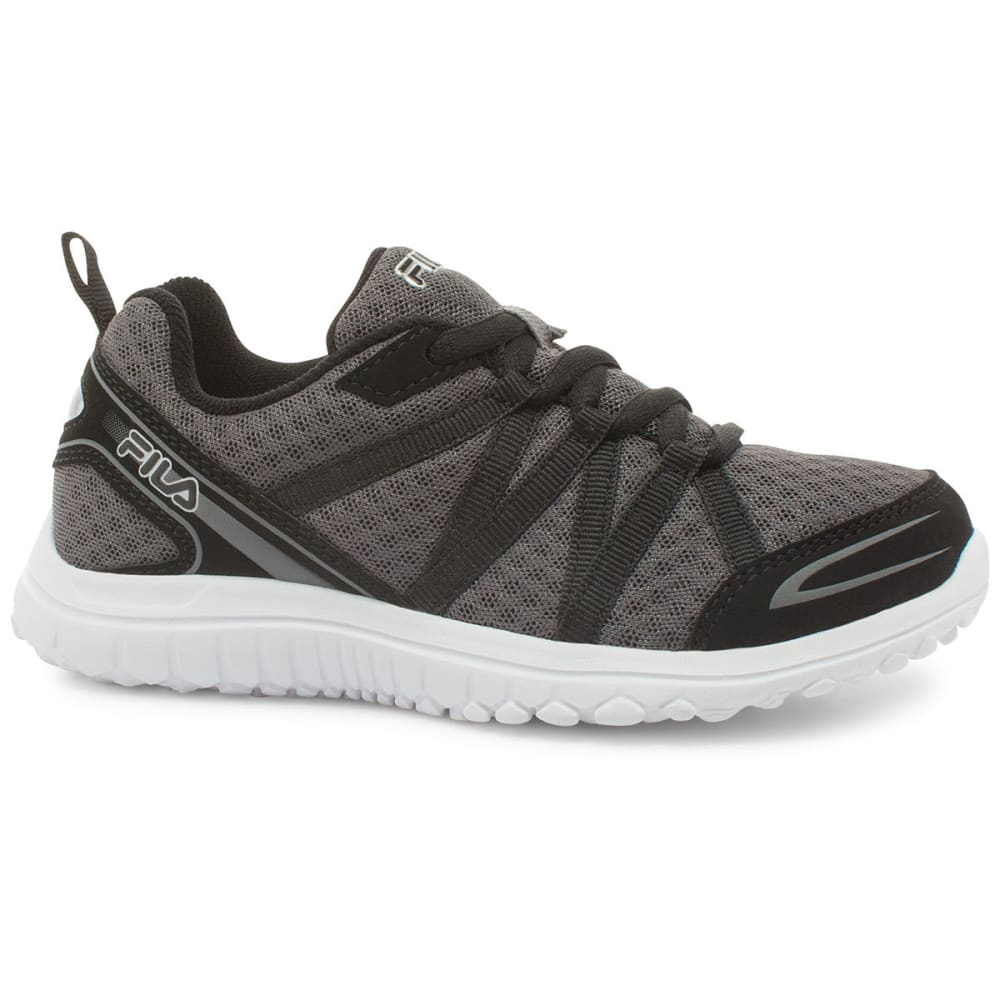 FILA Boys' Flyver Running Shoes - CASTLE ROCK