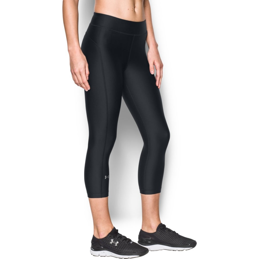 UNDER ARMOUR Women's HeatGear Armour Capri Leggings XS