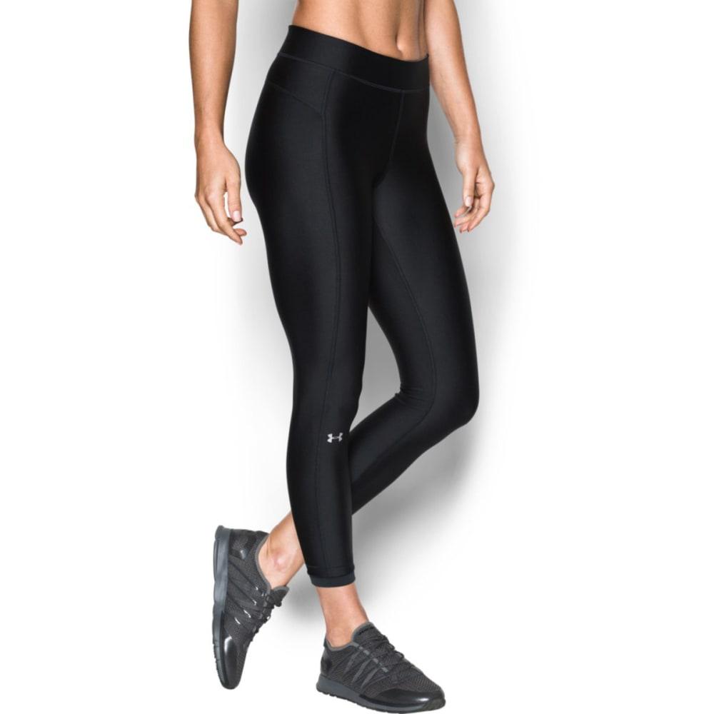 UNDER ARMOUR Women's HeatGear Armour Ankle Crop Leggings - BLACK-001
