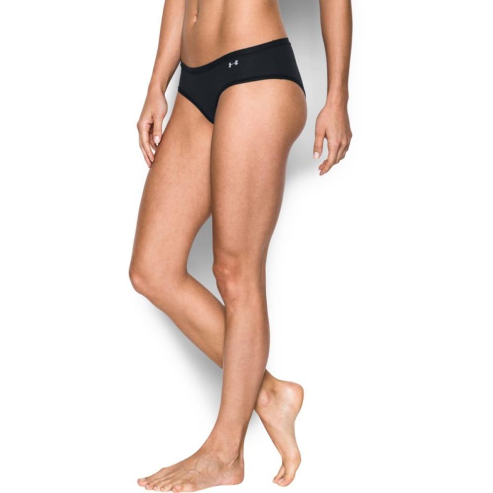 UNDER ARMOUR Women's Pure Stretch Sheer Hipster Underwear - BLACK-001