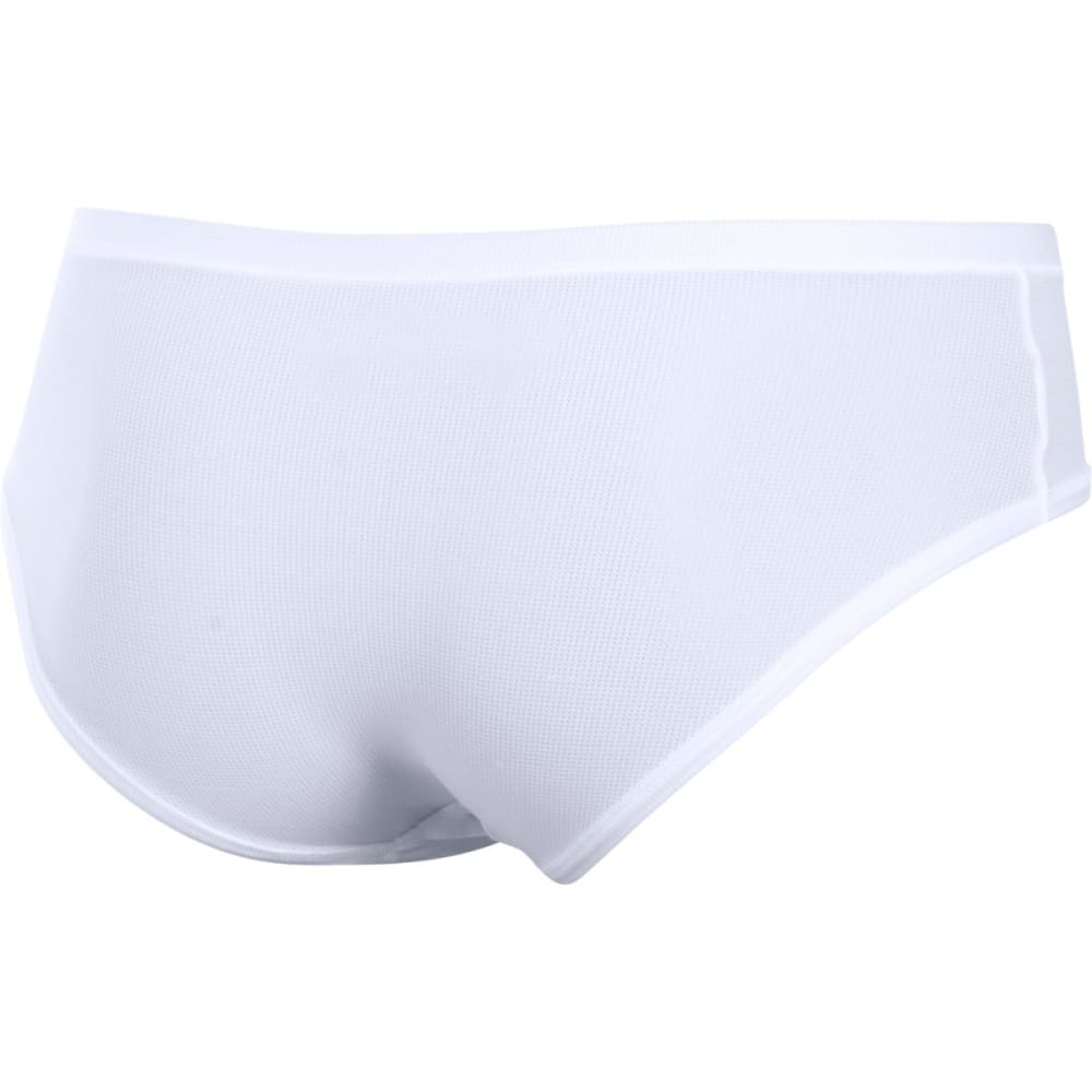 UNDER ARMOUR Women's Pure Stretch Sheer Hipster Underwear - WHITE-100