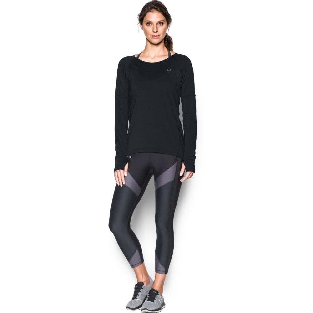 UNDER ARMOUR Women's Armour Sport Long-Sleeve Shirt - BLACK-001