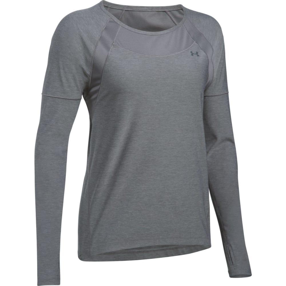 UNDER ARMOUR Women's Armour Sport Twist Long-Sleeve Shirt XS